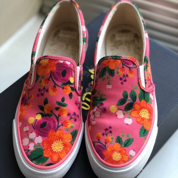 Keds Rifle Paper Co. Pink Slip on